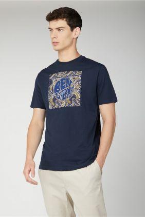 Camiseta Paisley Logo Ben Sherman