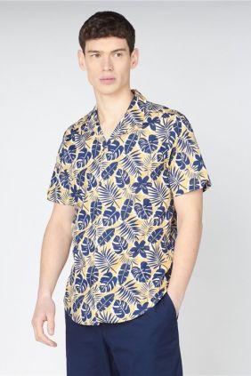 Comprar online Camisa Ben casual Botanic Sherman Estampado Hojas