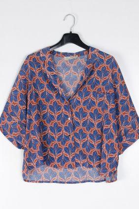 Comprar online Camisa oversize Brown See-u -soon Mujer