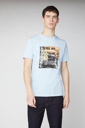 Comprar Camiseta Ben Sherman Remix Azul Claro online