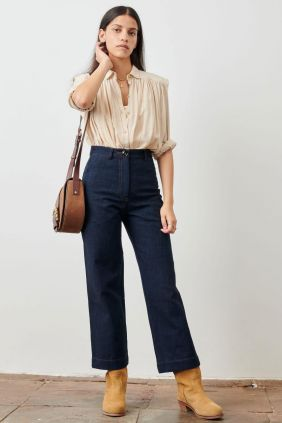 Comprar Pantalón Denim estilo 70 Sessùn