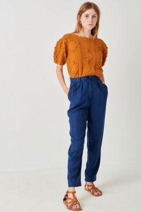 Comprar Pantalón Hondo sessun Azul Índigo Mujer